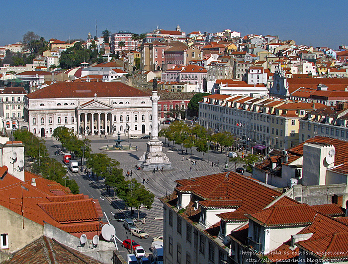The Lisbon Rossio